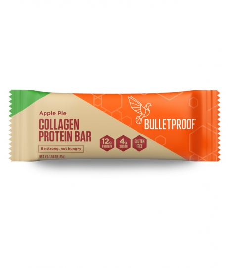 Apple Pie Collagen Protein bar i gruppen Protein / Proteinbars hos Bättre Hälsa AB (1077)
