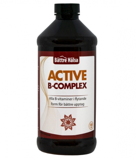 Active B-Complex in the group Supplements / Vitamins & Minerals / Vitamin B at Bättre Hälsa AB (1286)