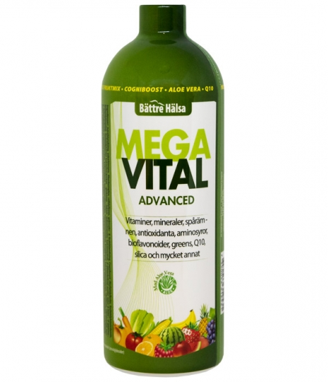 Mega Vital Advanced i gruppen Livsmedel / Superfoods / Greens hos Vitaminer.nu (800)