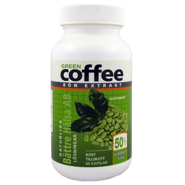 green coffee bön extrakt
